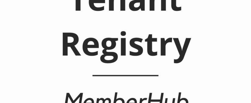 Tenant Registry